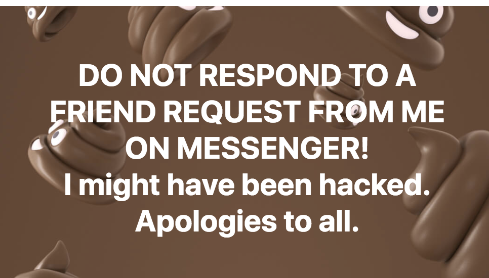Friend Request Scam Message 2