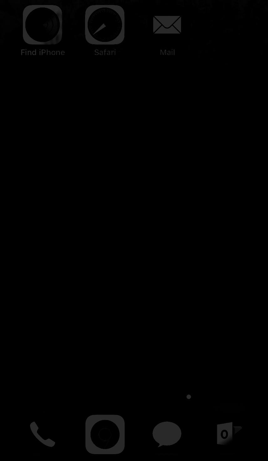 dark ios
